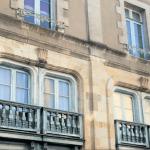 immobilier bretagne-façade immeuble ancien