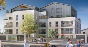 défiscaliser-résidence neuve rue passants ciel bleu