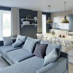 acheter un appartement-séjour meublé cuisine équipée baie vitrée rideaux ouverts parquet
