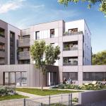 location meublée non professionnelle-résidence neuve espaces verts habitants ciel bleu