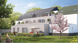 comment defiscaliser-résidence neuve jardin enfants qui jouent ciel bleu