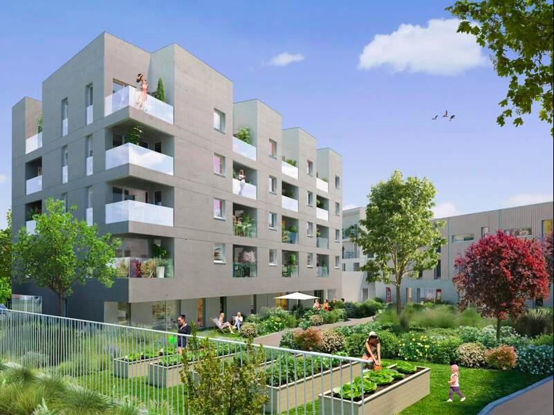 immo neuf nantes-résidence neuve jardin ciel bleu