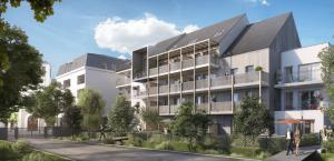 investissement pinel-résidence neuve espaces verts habitants ciel bleu
